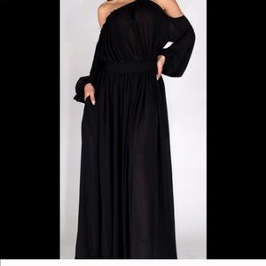 Dresses & Skirts - Off-the-shoulder Maxi Dress